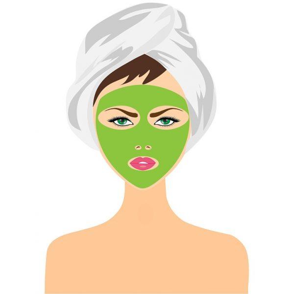 Kvasnicová maska na obličej