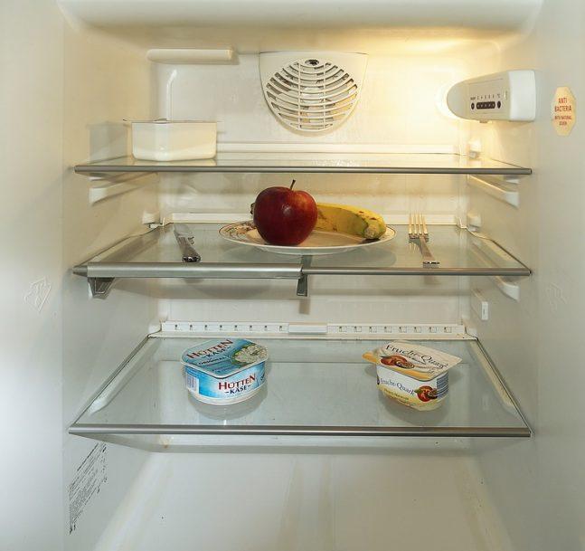 Mytí lednice