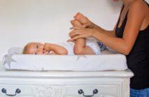 Přebalování miminka